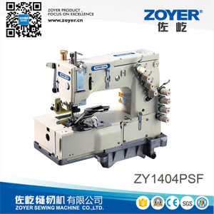 ZY 1404PSF Zoyer 4-Needle Flat-Bed Sewing Machine for shirt fronting