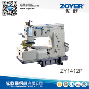ZY 1412P Zoyer 12-needle flat-bed double chain stitch sewing machine