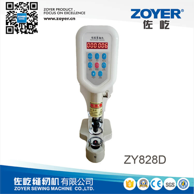 ZY828D zoyer Direct drive snap button attaching machine with infrared