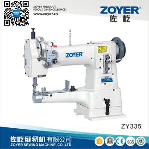 ZY335 Zoyer Single Needle Cylinder-Bed Compound-Feed Heavy Duty Sewing Machine (ZY335)